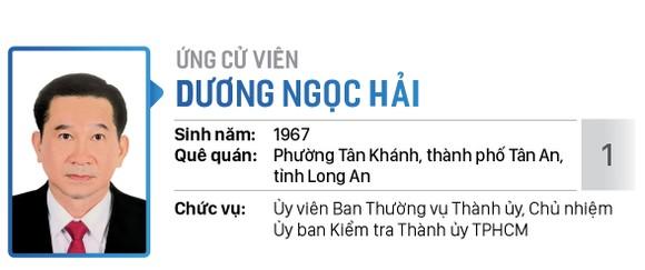 Danh sách chính thức những người ứng cử đại biểu Quốc hội khóa XV - Đơn vị bầu cử số 6 (quận Bình Tân) ảnh 1