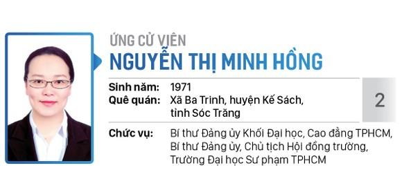 Danh sách chính thức những người ứng cử đại biểu Quốc hội khóa XV - Đơn vị bầu cử số 6 (quận Bình Tân) ảnh 2