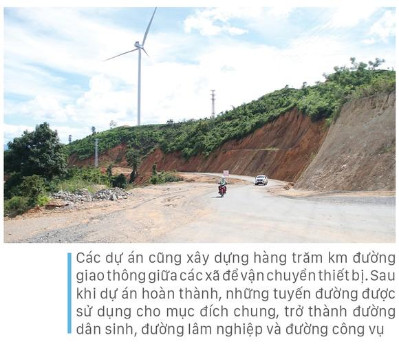 Trên đại công trường điện gió ở huyện miền núi Quảng Trị ảnh 14