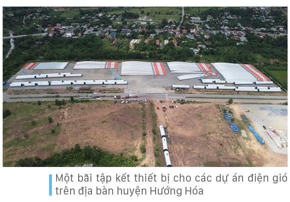 Trên đại công trường điện gió ở huyện miền núi Quảng Trị ảnh 6