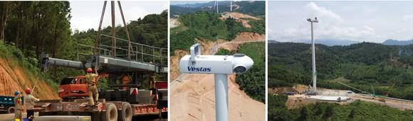 Trên đại công trường điện gió ở huyện miền núi Quảng Trị ảnh 10