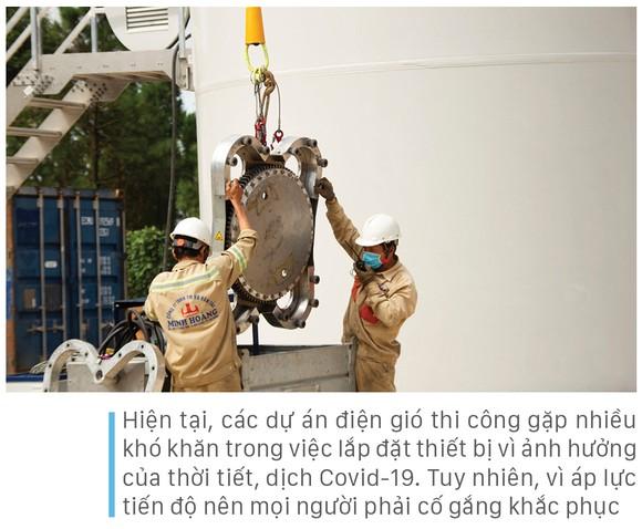 Trên đại công trường điện gió ở huyện miền núi Quảng Trị ảnh 12