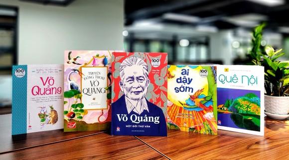 Ra mắt bộ ấn phẩm nhân kỷ niệm 100 năm ngày sinh nhà văn Võ Quảng ảnh 1