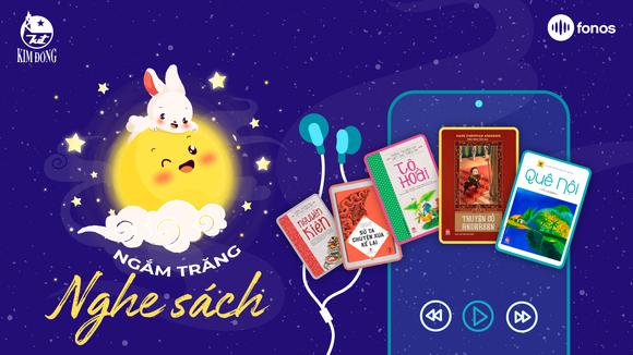 NXB Kim Đồng tặng 5 tựa sách nói nổi tiếng để các em cùng ngắm trăng nghe sách  ảnh 1