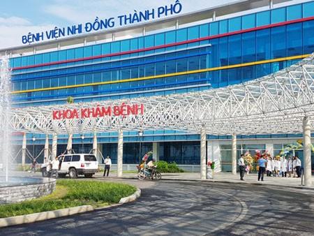 The diagnosis area of HCMC Children Hospital. (Photo: SGGP)
