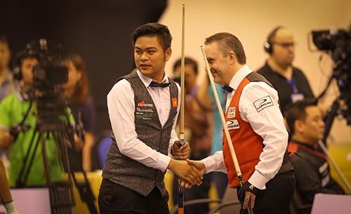 Nguyễn Trần Thanh Tự xuất sắc đánh bại tay cơ hạng 2 thế giới Frederic Caudron ảnh 8