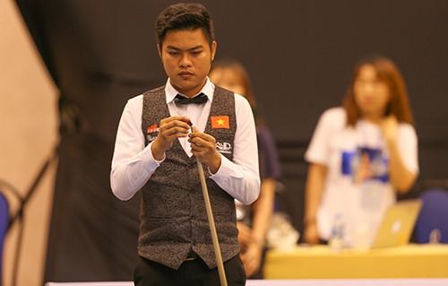 Nguyễn Trần Thanh Tự xuất sắc đánh bại tay cơ hạng 2 thế giới Frederic Caudron ảnh 5