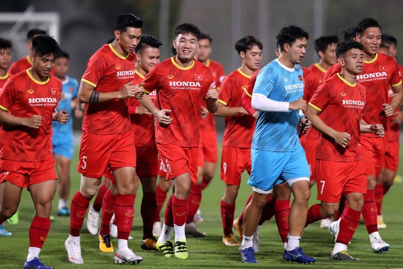 Đội tuyển Việt Nam thoải mái tâm lý trước trận gặp Indonesia ảnh 9