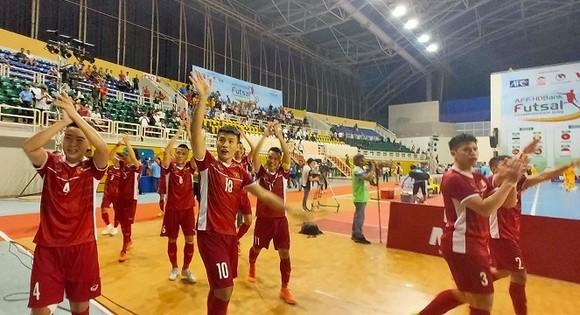 Futsal Việt Nam giành vé dự VCK Châu Á 2020