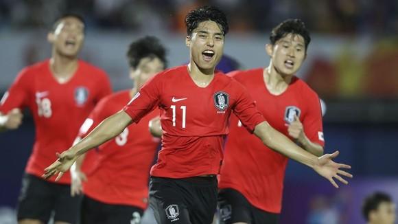 U23 Jordan khó cản bước tiến của Hàn Quốc. Ảnh: AFC