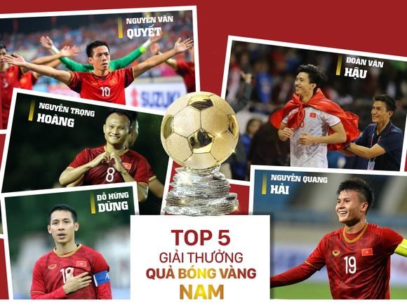 Danh sách rút gọn giải thưởng Quả bóng vàng VN 2019 ảnh 1