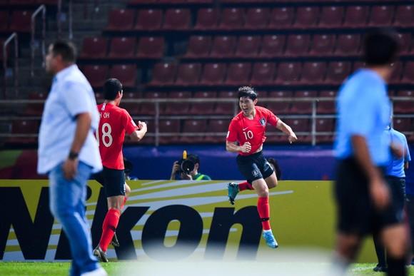 U23 Hàn Quốc đến gần với ngôi vô địch châu Á 2020. Ảnh: AFC