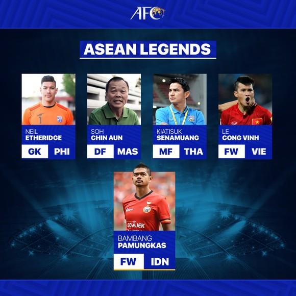 Top 5 cầu thủ huyền thoại Đông Nam Á được AFC công bố