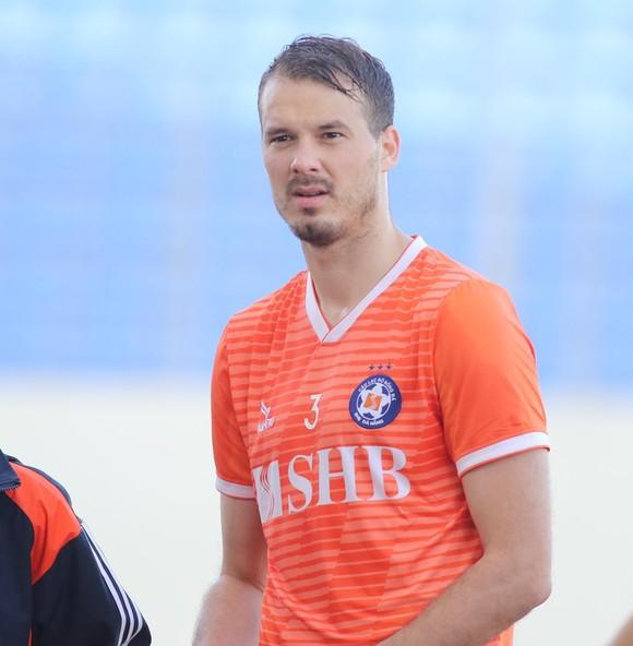 Trung vệ Igor Jelic. Ảnh: VIẾT ĐỊNH