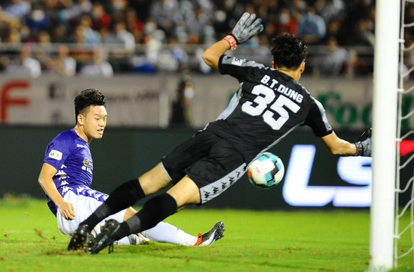 CLB Hà Nội giành 3 điểm quý giá trên sân Thống Nhất  ảnh 4