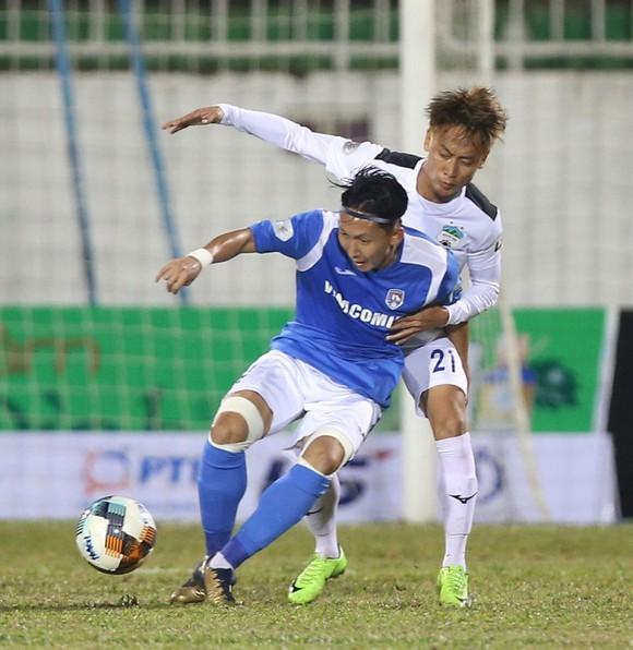 Xuân Tú là 1 trong 3 cầu thủ được Than QN cho Hải Phòng mượn. Ảnh: MINH HOÀNG