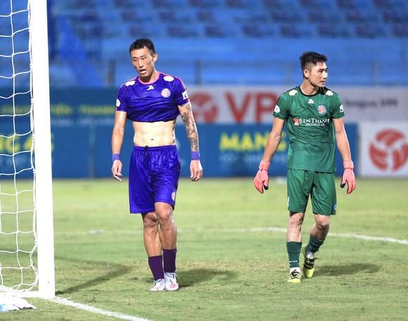 CLB Sài Gòn đang bị nhóm sau áp sát từ thất bại ở vòng 12