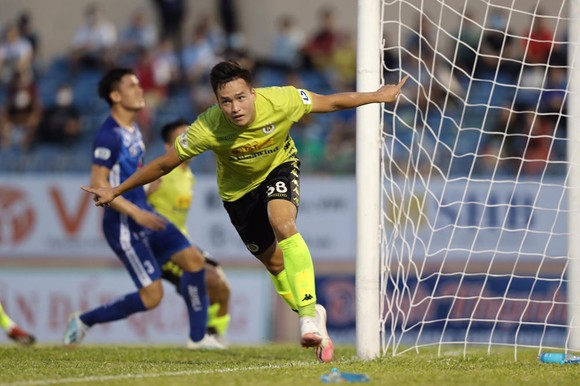 """Hà Nội FC đang vào """"phom"""" nên sẽ khó cho Thanh Hóa gây bất ngờ. Ảnh: MINH HOÀNG"""