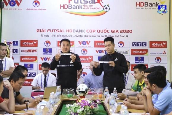 Thái Sơn Nam gặp Kardiachain Sài Gòn ở vòng Tứ kết giải futsal Cúp Quốc gia ảnh 1