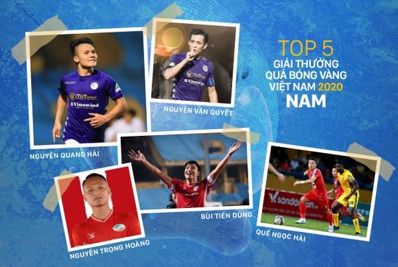 Danh sách rút gọn Giải thưởng Quả bóng vàng Việt Nam 2020 ảnh 1