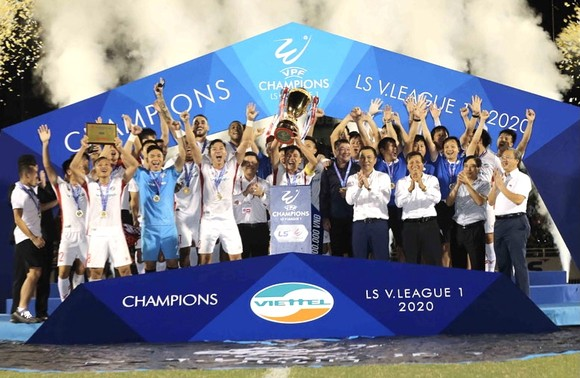 Năm 2020 là năm thành công của bóng đá Việt Nam ảnh 1