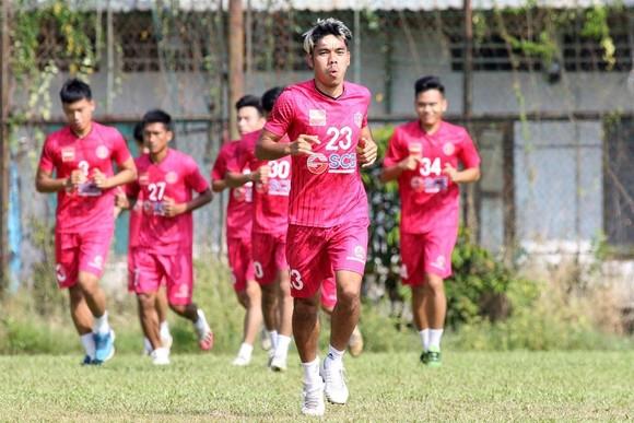 Cao Văn Triền có cơ hội trải nghiệm tại J.League 2. Ảnh: H.T