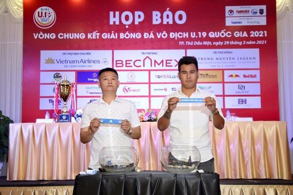 VCK U19 quốc gia 2021: ĐKVĐ và chủ nhà vào cùng bảng đấu ảnh 1
