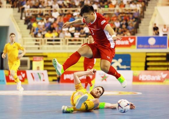 Futsal Việt Nam tranh vé đi World Cup với Lebanon ảnh 1