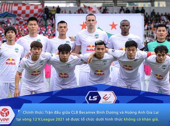 Sân Quy Nhơn, Hàng Đẫy không đón khán giả ở vòng 12 LS V-League 2021 ảnh 1