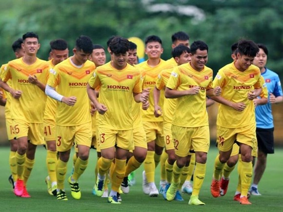 Đội U22 Việt Nam sẽ tập trung ngày 10-5 tới đây