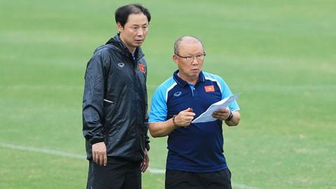 Trợ lý Kim được thầy Park giao dẫn dắt đội U22 Việt Nam
