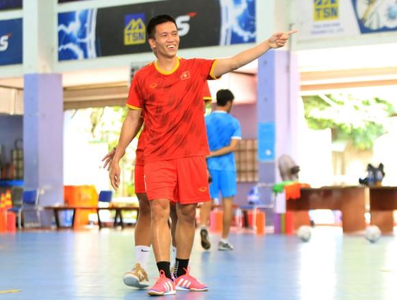 Thầy trò ĐT futsal Việt Nam vào cao điểm chuẩn bị tranh vé dự VCK World Cup ảnh 4