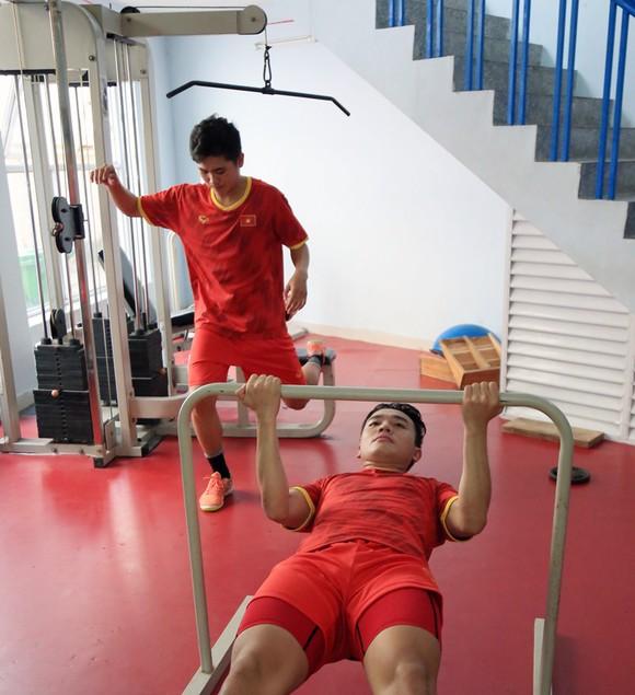 Thầy trò ĐT futsal Việt Nam vào cao điểm chuẩn bị tranh vé dự VCK World Cup ảnh 5