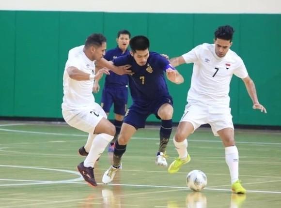 Thái Lan dẫ dàng giành chiến thắng cách biệt trước Iraq. Ảnh: AFC