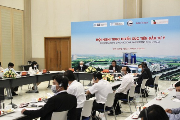Becamex IDC tổ chức Hội nghị trực tuyến xúc tiến đầu tư Italia tại Bình Dương  ảnh 2
