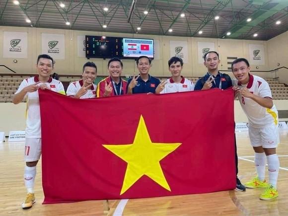 Đội tuyển futsal Việt Nam với chiến tích 2 kỳ liên tiếp tham dự VCK futsal World Cup