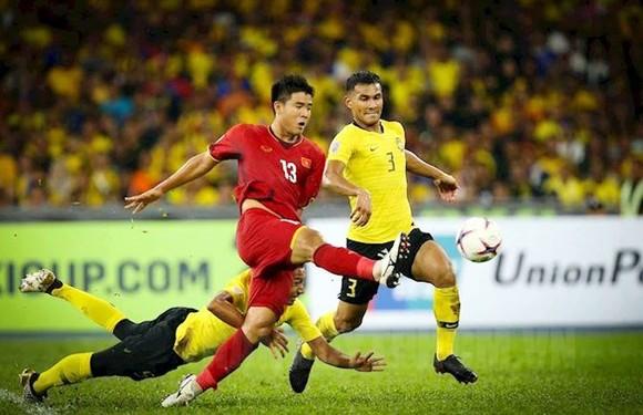 Trận thắng 1-0 của Việt Nam trước Malaysia ở lượt đi. Ảnh: H.T