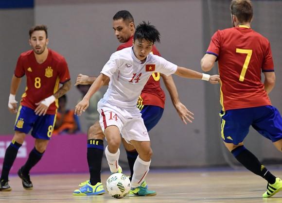 tuyển futsal Việt Nam sẽ tái ngộ cùng đội Tây Ban Nha trước khi tham dự VCK World Cup 2021. Ảnh: QUANG THẮNG