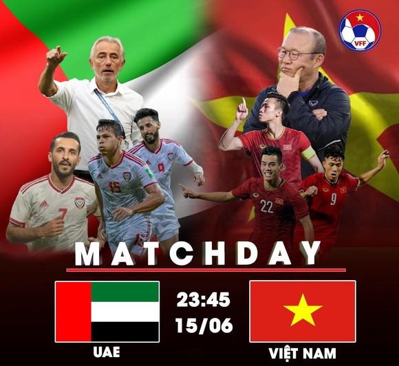 UAE – Việt Nam: Thử thách cho hàng phòng ngự  (VTV5, VTV6 trực tiếp 23g45 ngày 15-6) ảnh 1