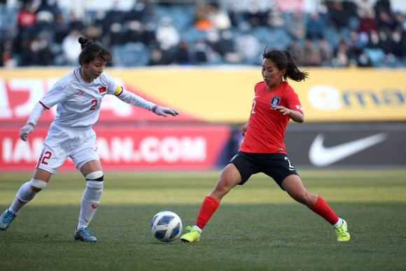 Đội tuyển nữ Việt Nam có bảng đấu thuận lợi ở vòng loại Asian Cup 2022