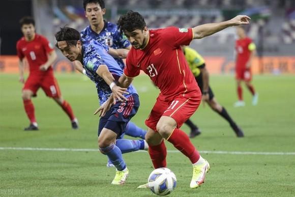 Đội tuyển Trung Quốc đang đứng cuối bảng B sau khi thua cả 2 trận từ đầu vòng loại. Ảnh: Sina