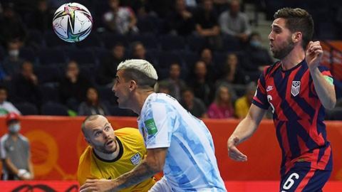 Argentina thắng dễ đội tuyển Mỹ