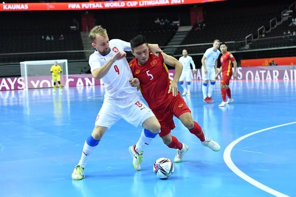 Đội tuyển futsal Việt Nam đã thể hiện tinh thần thi đấu rất tốt ở vòng đấu bảng