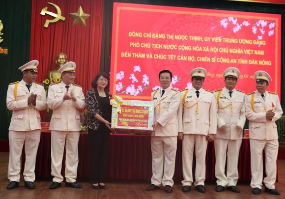 Phó Chủ tịch nước Đặng Thị Ngọc Thịnh thăm, chúc Tết tại Đắk Nông ảnh 1