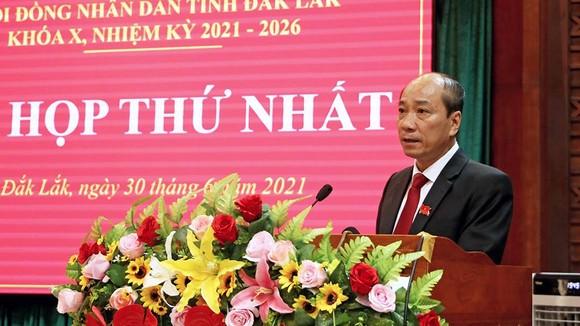 Ông Phạm Ngọc Nghị tái đắc cử chức Chủ tịch UBND tỉnh Đắk Lắk ảnh 1