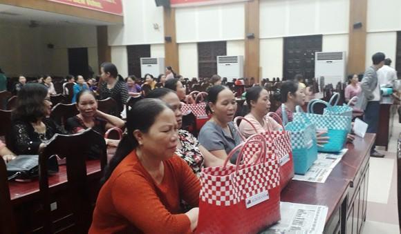 Tặng 1.000 giỏ đi chợ thân thiện với môi trường cho phụ nữ Đà Nẵng ảnh 1