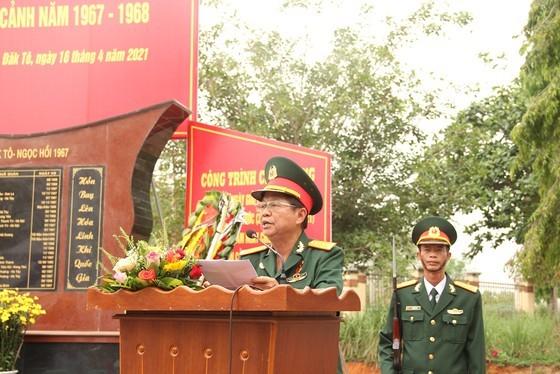 Khánh thành Bia tưởng niệm liệt sĩ Trung đoàn 174 hy sinh tại Đắk Tô - Tân Cảnh  ảnh 2