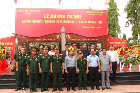 Khánh thành Bia tưởng niệm liệt sĩ Trung đoàn 174 hy sinh tại Đắk Tô - Tân Cảnh  ảnh 4