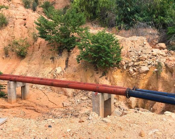 Kon Tum: Dự án cấp nước 99 tỷ đồng chậm tiến độ, nhiều hạng mục thi công chưa đúng thiết kế ảnh 1