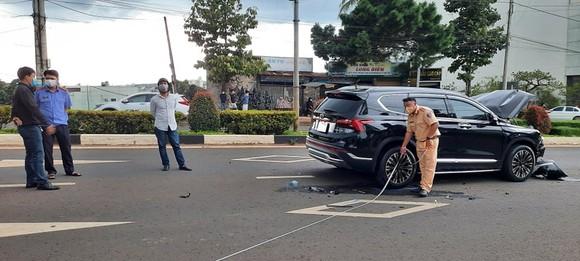 Vụ tông xe, nổ súng ở TP Pleiku: Khởi tố vụ án, tam giữ 2 đối tượng  ảnh 1